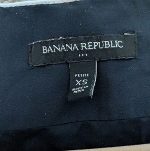 Banana Republic Tops - Banana Republic Zip Up Blouse